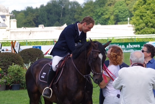 Seconde place du CSI** de Chantilly pour Thomas et Univers